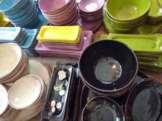 Vaisselle couleurs