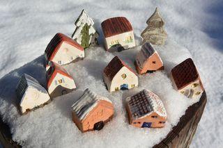 Maisons neige