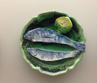 Assiette au poisson
